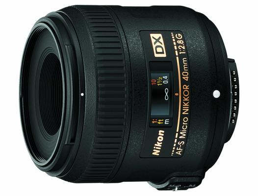 Обектив Nikon AF-S DX MICRO Nikkor 40mm f/ + Филтър Praktica UV 52mm