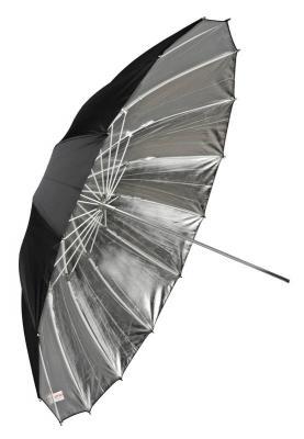 Сребрист отражателен чадър Dynaphos 180 см Fibro