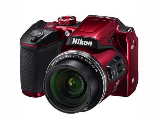 Фотоапарат Nikon Coolpix B500 Red