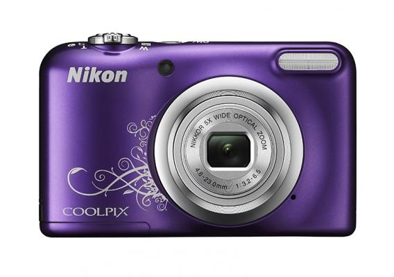 Фотоапарат Nikon Coolpix A10 Purple Lineart