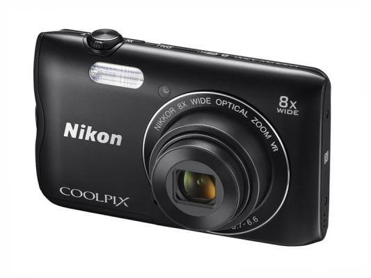 Фотоапарат Nikon Coolpix A300 Black