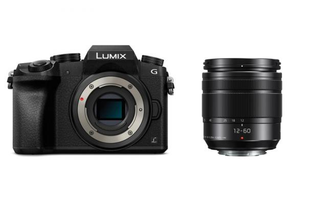 Фотоапарат Panasonic Lumix G7 тяло Black + Oбектив Panasonic Lumix G Vario 12-60mm f/3.5-5.6 ASPH. POWER O.I.S.
