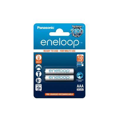 Акумулаторни батерии AAA Panasonic Eneloop 750mAh (2бр.)