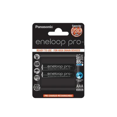 Акумулаторни батерии AAA Panasonic Eneloop PRO 930mAh (2бр.)