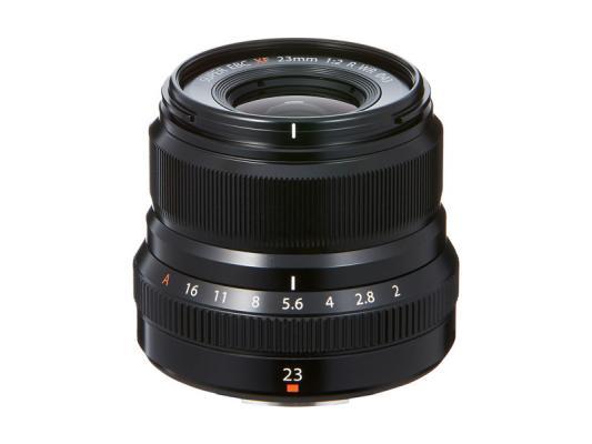 Обектив Fujifilm Fujinon XF 23mm F/2 R WR Black
