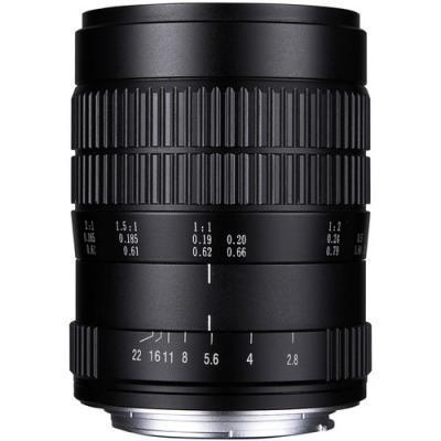 Обектив Laowa 60mm f/2.8 2X Ultra Macro за Nikon F
