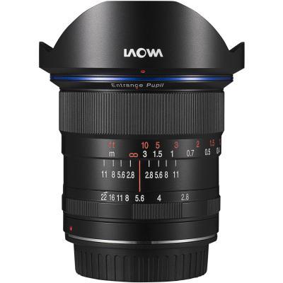 Обектив Laowa 12mm f/2.8 ZERO-D за Canon EF