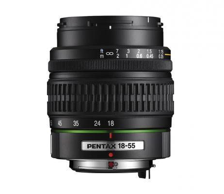 Обектив Pentax SMC DA 18-55mm f/3.5-5.6 AL