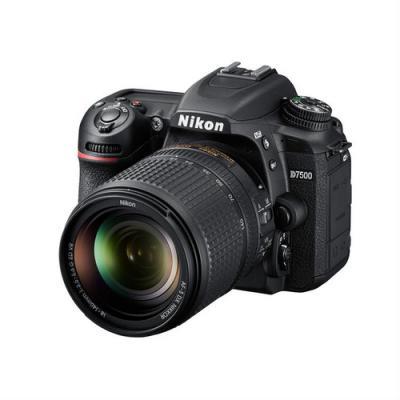 Фотоапарат Nikon D7500 тяло + Обектив Nikon AF-S DX Nikkor 18-140mm f/3.5-5.6G ED VR
