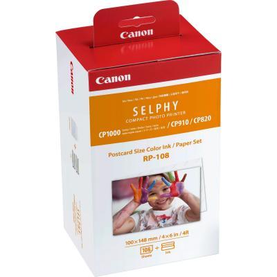 Хартия за термосублимационни принтери Canon RP-108
