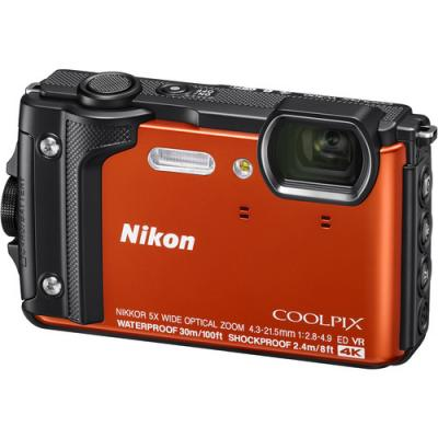 Фотоапарат Nikon COOLPIX W300 Orange + ВОДОУСТОЙЧИВА РАНИЦА