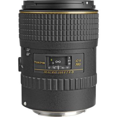Обектив Tokina AF 100mm f/2.8 Macro AT-X PRO D за Canon