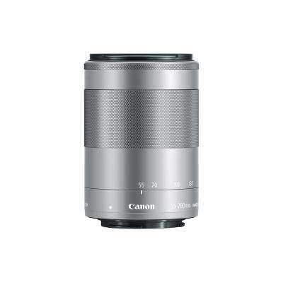 Обектив Canon EF-M 55-200mm f/4.5-6.3 IS STM (Silver)