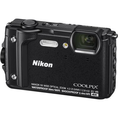 Фотоапарат Nikon COOLPIX W300 Black + Водонепромокаема раница Nikon