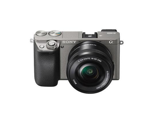 Фотоапарат Sony Alpha A6000 Gray Kit (16-50mm OSS)