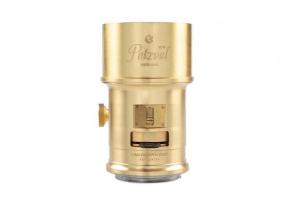 Обектив Lomography Petzval 85mm f/2.2 (Brass) за Canon EF