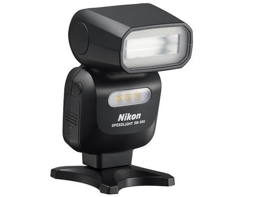 Светкавица Nikon SB-500 + Зарядно усторйство GP + 2 бр. AA x 2100mAh батерии