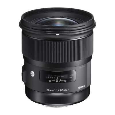 Обектив Sigma 24mm f/1.4 DG HSM (Art) за Nikon