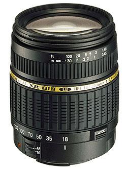 Обектив Tamron AF 18-200mm F/3.5-6.3 Di II XR LD Aspherical (IF) Macro за Pentax