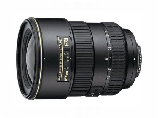 Обектив Nikon AF-S DX Nikkor 17-55mm f/2.8G IF-ED