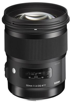Обектив Sigma 50mm f/1.4 DG HSM (Art) за Canon