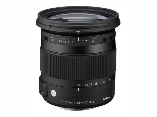 Обектив Sigma 17-70mm f/2.8-4 DC Macro OS HSM (Contemporary) за Canon