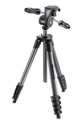 Статив Manfrotto Compact Advanced - комплект (Черен)