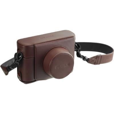 Кожен калъф Fujifilm LC-X100F за X100F Brown