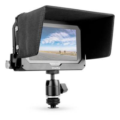Клетка SmallRig за монитор Blackmagic Video Assist 5'' + Сенник