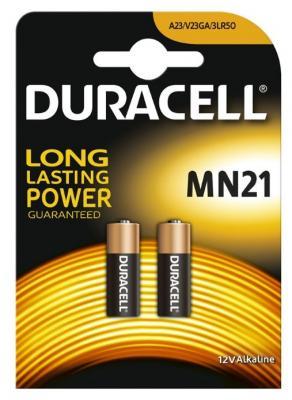 Алкална батерия Duracell MN21 A23 (12V) - 2бр.
