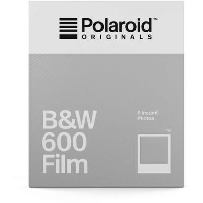Моментален филм Polaroid 600 B&W (8 листа с рамка)