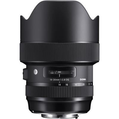 Обектив Sigma 14-24mm f/2.8 DG HSM (Art) за Canon EF