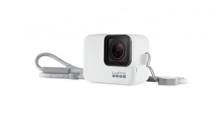 Калъф за GoPro Sleeve + Lanyard (бял)