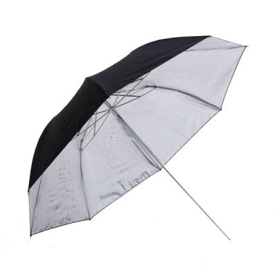 Двойно сгъваем отражателен чадър Phottix Silver 91cm