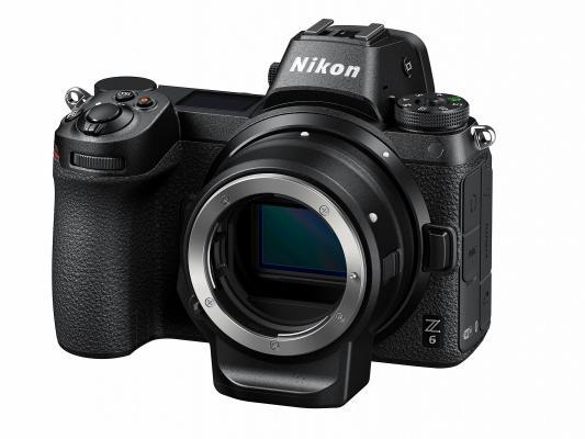 Фотоапарат Nikon Z6 тяло + преходник Nikon FTZ + Карта памет Nikon XQD 64GB - 440MB/s