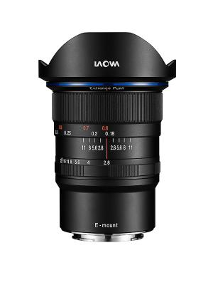 Обектив Laowa 12mm f/2.8 ZERO-D за Sony FE