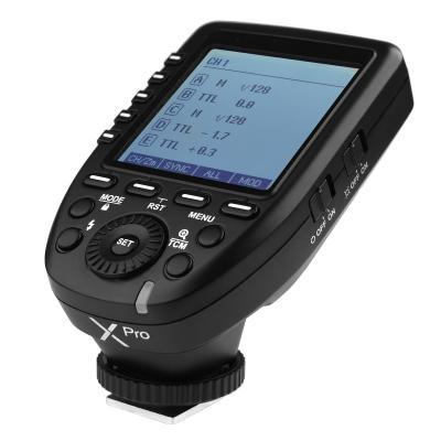 TTL Радиосинхронизатор Godox Xpro-N - предавател за Nikon