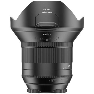 Обектив  Irix 15mm f/2.4 Blackstone за Canon EF