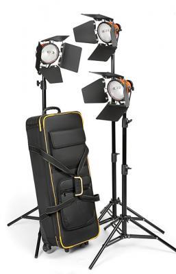 Комплект халогенно осветление Halo CTR 2400 Studio