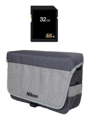 Комплект Nikon DSLR Kit (CF-EU11 Bag + 32GB SD)