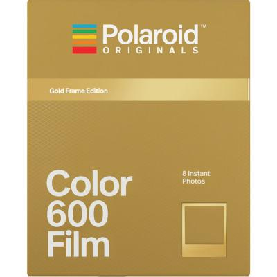 Моментален филм Polaroid 600 Color - Gold Frame Edition