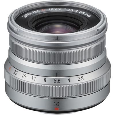 Обектив Fujifilm XF-16mm f/2.8 R WR Silver