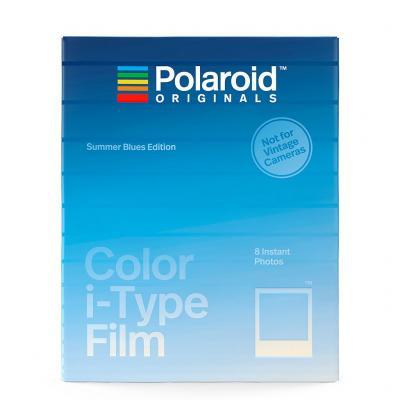 Моментален филм Polaroid i-Type Color Summer Blue (8 листа)