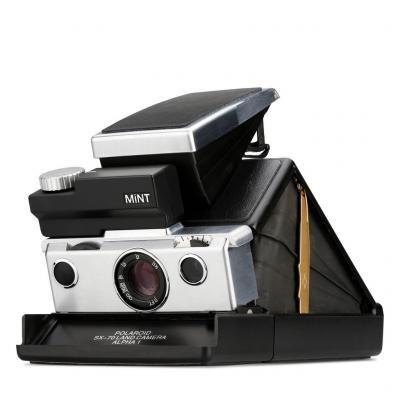 Моментален фотоапарат Polaroid MINT SLR670-S Black - Silver