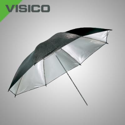 Сребрист отражателен чадър Visico UB-003 80 см