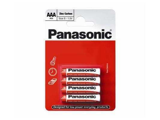 Цинкови батерии AAA Panasonic Special Power (LR03) 4бр