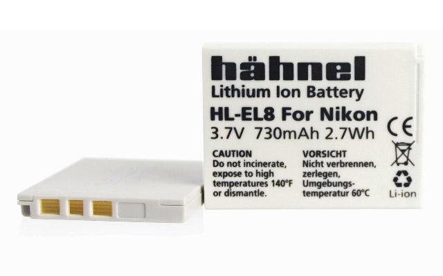 Батерия Hähnel Li-Ion HL-EL8 (заместител на Nikon EN-EL8)