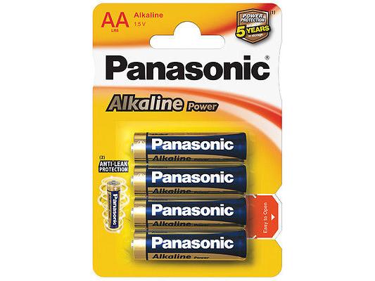 Алкални батерии AA Panasonic Alkaline Power (LR06) 4бр