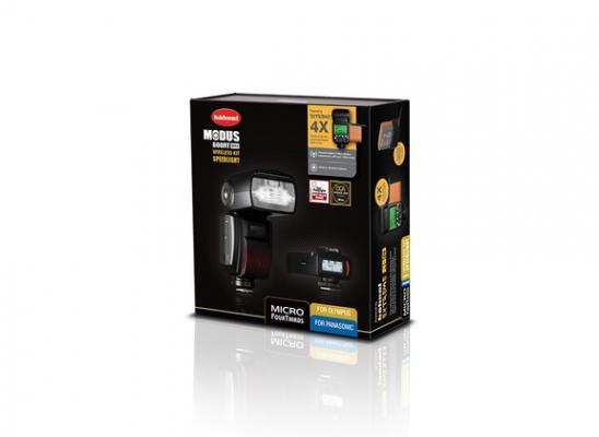 Светкавица Hahnel MODUS 600RT MK II Wireless Kit за micro 4/3