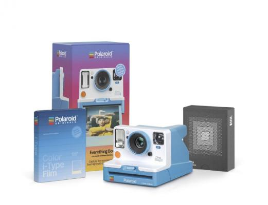 Моментален фотоапарат Polaroid OneStep 2 VF Summer Blue EVERYTHING BOX - комплект